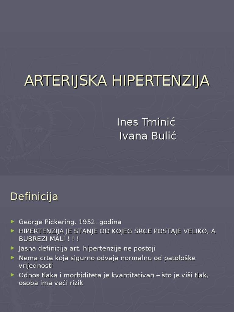 hipertenzije i renovaskularnu hipertenziju da li je moguće da se uključe u šetnju s hipertenzijom