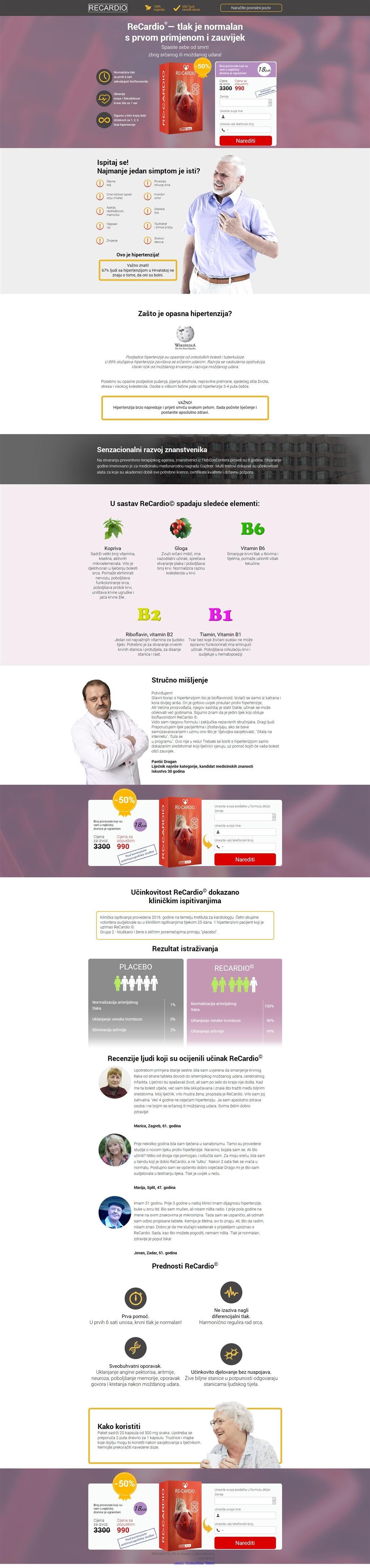 liječenje hipertenzije ricardo journal of hypertension
