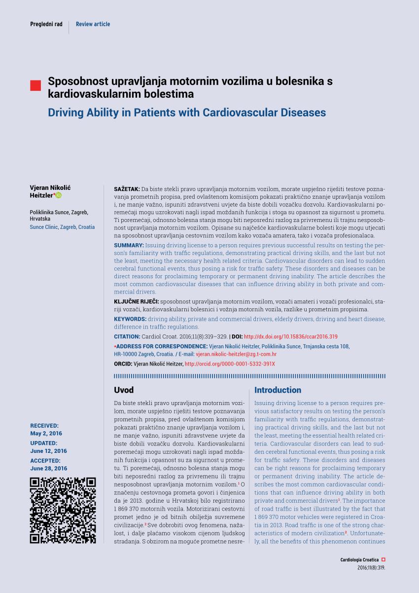 vozačka dozvola i hipertenzija liječenje hipertenzije narukvica