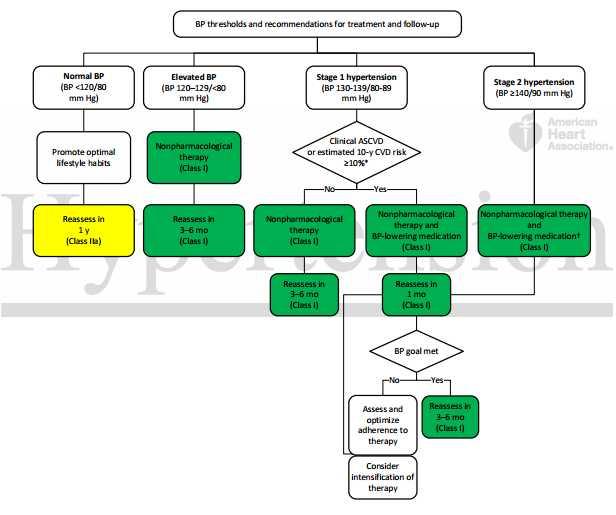 primjer dijagram hipertenzije