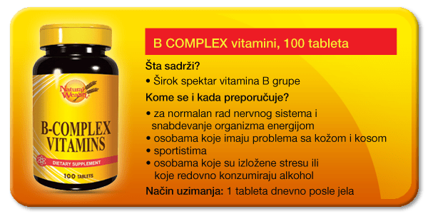 Vitamin B kompleks - PharmaMedica