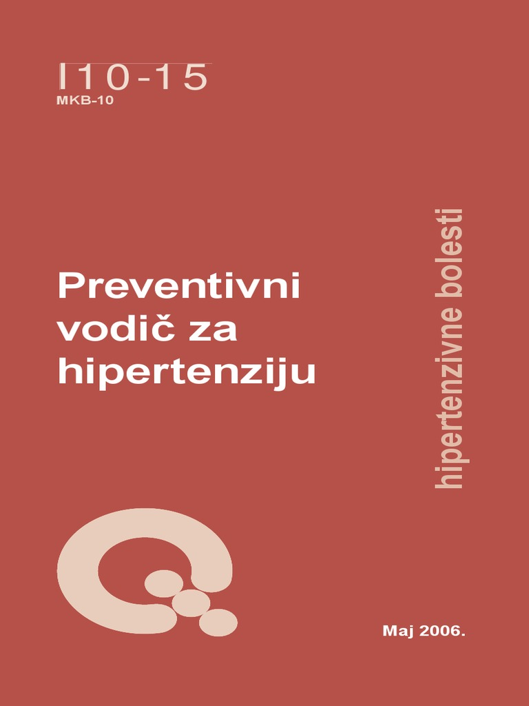 hipertenzije i njezinih mehanizama simptomi i uzroci hipertenzije