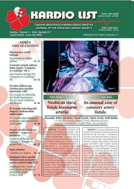 hipertenzija, angina, zatajenje srca, bolesti koronarne arterije