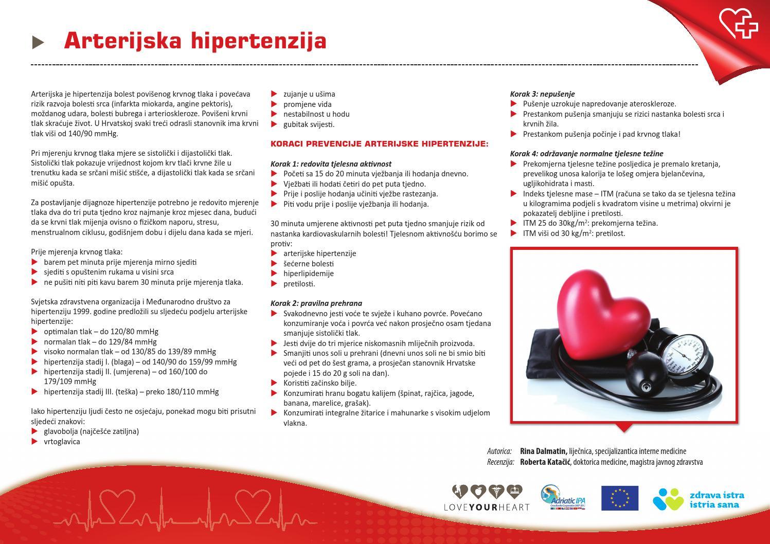 korak hipertenzija koji je liječenje hipertenzije u bolnici