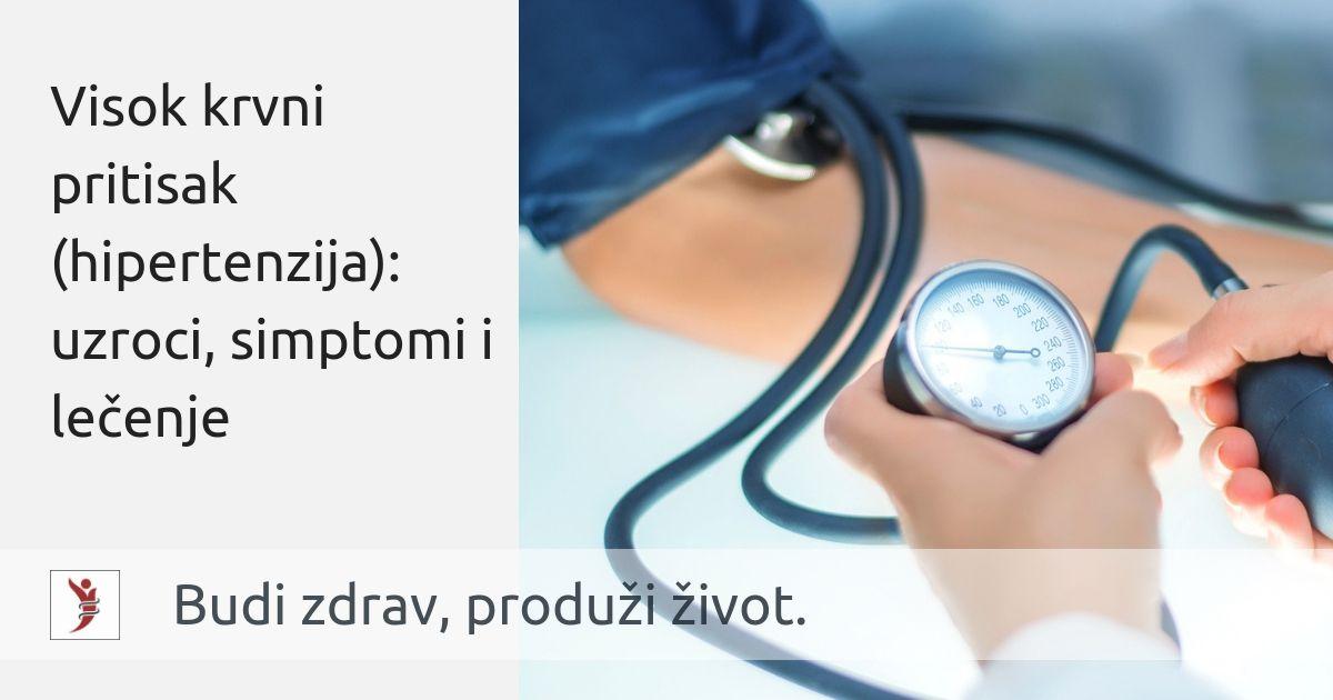 hipertenzija može dovesti