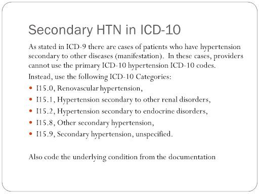 kod icd hipertenzija o opasnostima od pušenja i hipertenzije