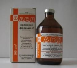 ASD-2 za tromboflebitis i proširene vene - Razlozi