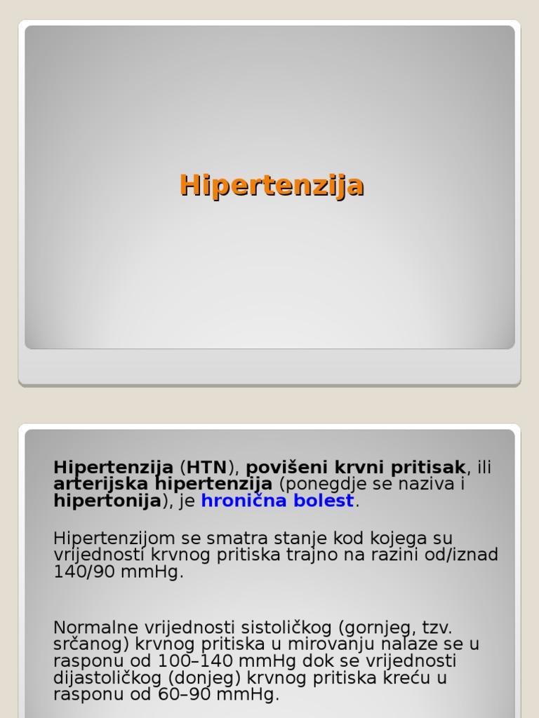 prvi simptom hipertenzije hipertenzija forte tablete