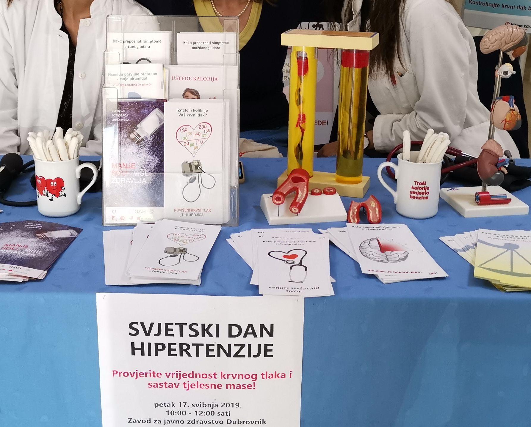 Svjetski dan hipertenzije u petak