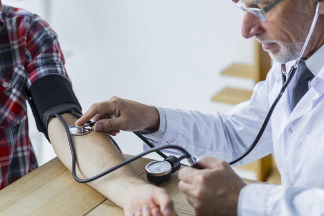 učinak visokog krvnog tlaka