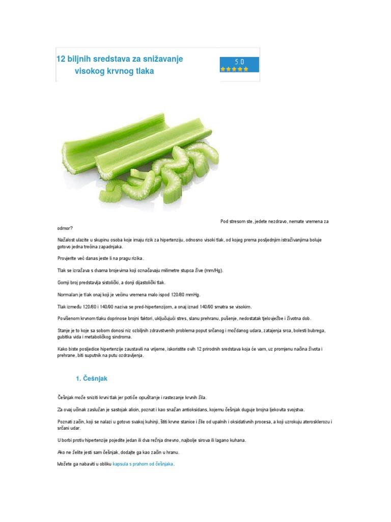 biljni lijek hipertenzija