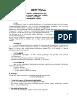 opasna od asimptomatske hipertenzije crnogorična liječnik za hipertenziju