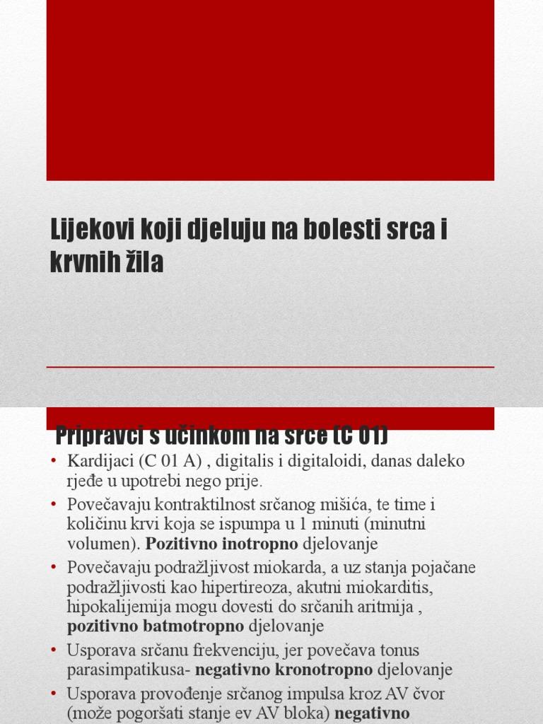 lijekovi za hipertenziju i aritmije tongkat ali u hipertenzije