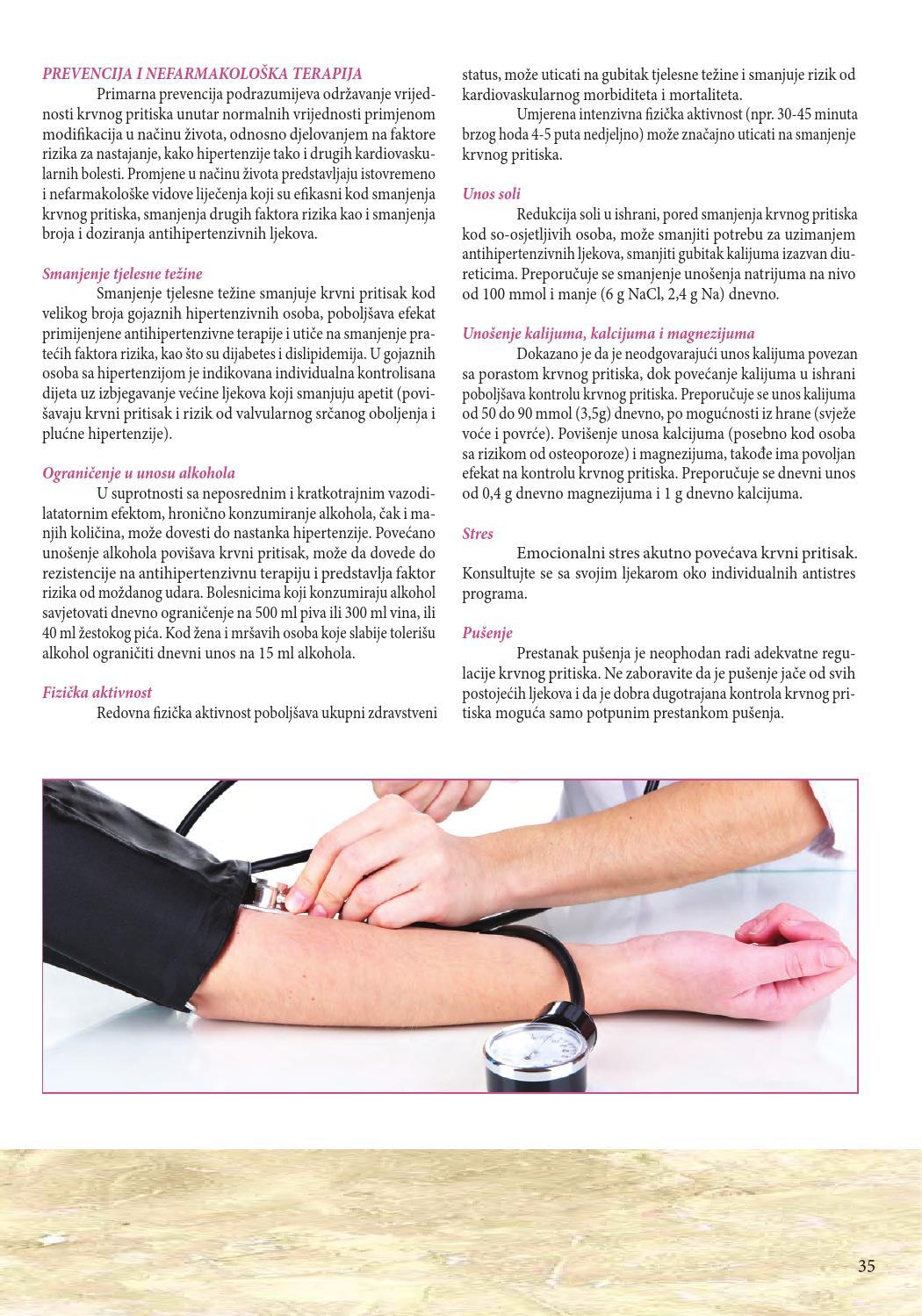rizik hipertenzija oboljenje